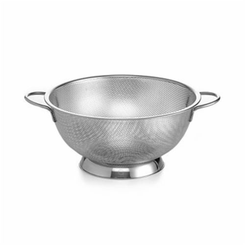 Starcrafts 92254 8 qt Stainless Steel German Colander Perspective: front
