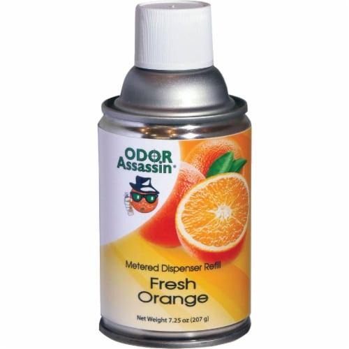 Odor Assassin 7.25 Oz. Fresh Orange Metered Refill 112257 Perspective: front