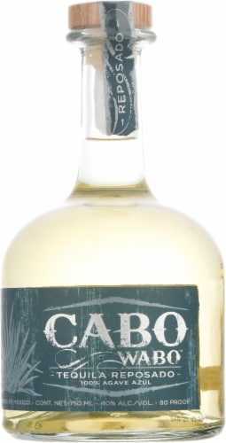 Cabo Wabo Tequila Reposado Perspective: front