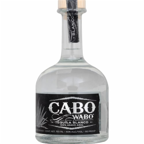 Cabo Wabo Tequila Blanco Perspective: front