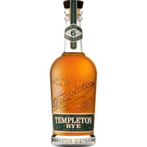 Templeton Rye Whiskey Perspective: front