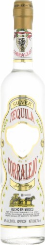 Corralejo Blanco Tequila Perspective: front