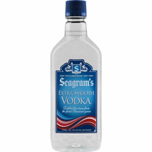 Seagram's Extra Smooth Vodka Perspective: front