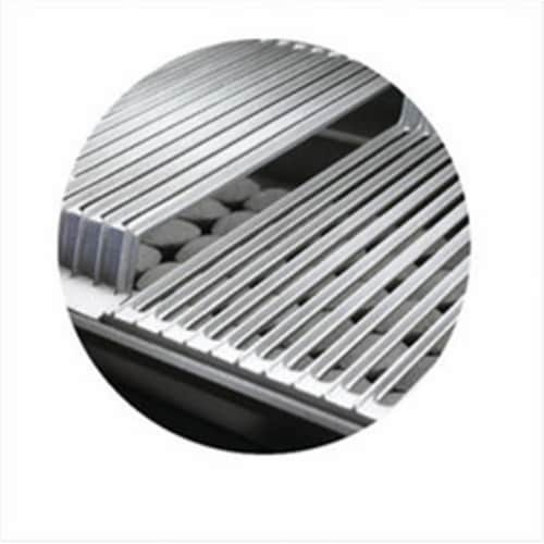 Broilmaster DPA111 Stainless Steel Cooking Grids for Size 3 Grill - Set of 2 Perspective: front