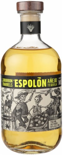 Espolon Anejo Tequila Perspective: front