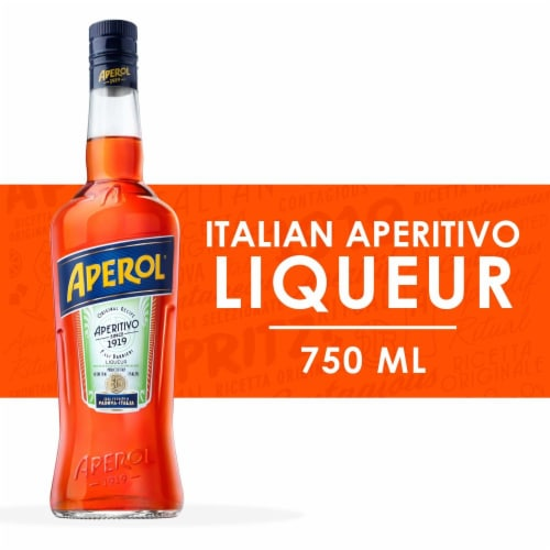 Aperol Aperitivo Liqueur Perspective: front