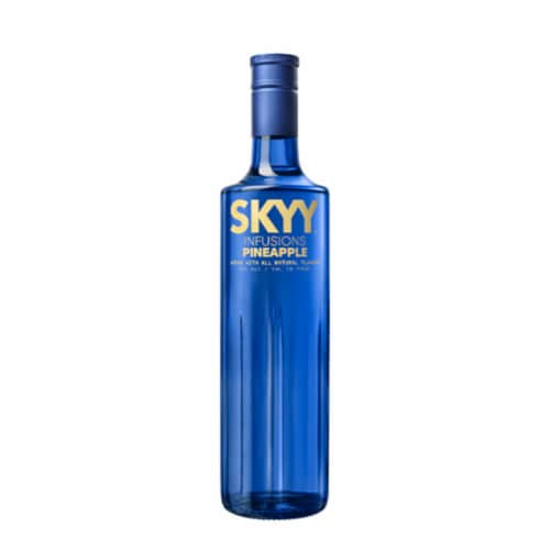 Skyy Infusions Pineapple Vodka Perspective: front