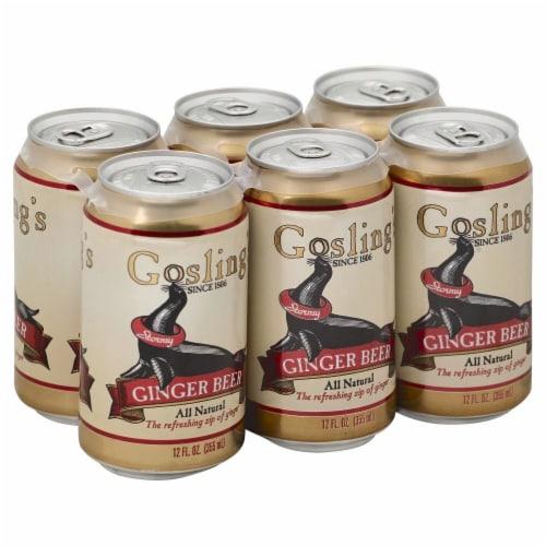 Gosling's Ginger Beer Perspective: front