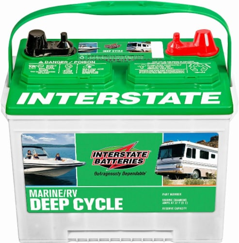 Who Makes Interstate Batteries >> Dillons Food Stores Interstate Batteries Marine Rv Battery 550 Cca