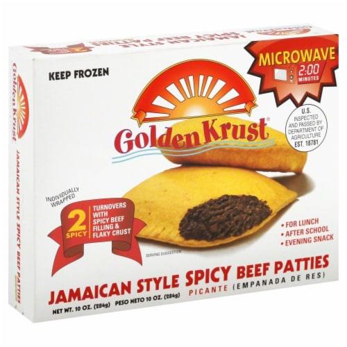 Golden Krust Jamaican Style Spicy Beef Patties Perspective: front