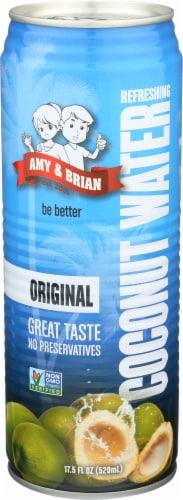 Amy & Brian Coconut Juice No Pulp Perspective: front