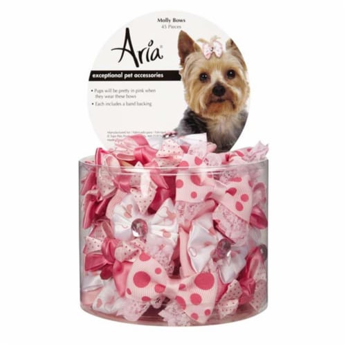 Aria North DT5645 45 Molly Bows Canister 45 Pcs Perspective: front