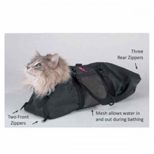 Top Performance Cat Grooming Bag Small 17x9In Perspective: front