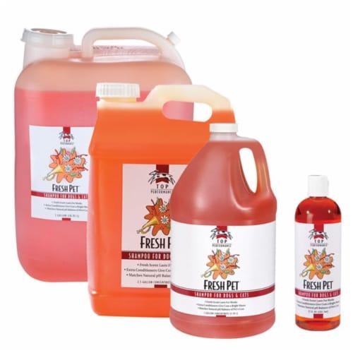 Petedge TP562 91 Top Performance Fresh Pet Shampoo Gallon Perspective: front