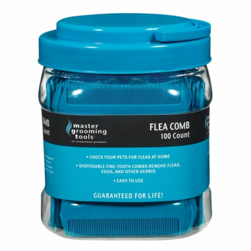 Pet Pals TP739 99 MGT Flea Comb Canister 100 Count Perspective: front