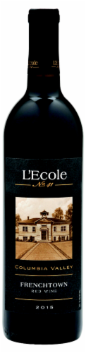 L'Ecole #41 French Town Red Wine Perspective: front