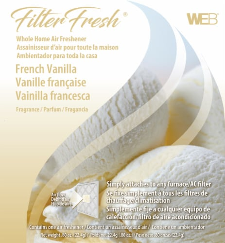 Filter Fresh French Vanilla Whole Home Air Freshener Perspective: front