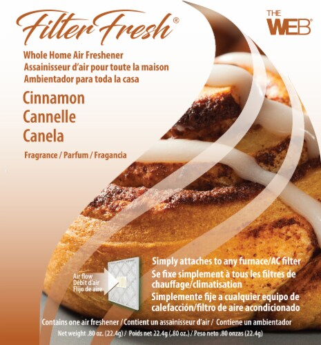 Filter Fresh Cinnamon Whole Home Air Freshener Perspective: front