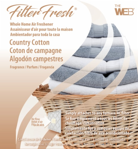 Filter Fresh Country Cotton Whole Home Air Freshener Perspective: front