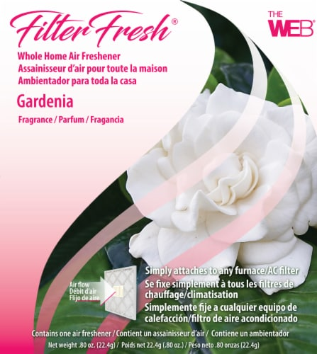 Filter Fresh Gardenia Whole Home Air Freshener Perspective: front
