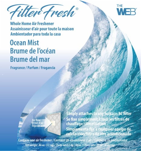 Filter Fresh Ocean Mist Whole Home Air Freshener Perspective: front