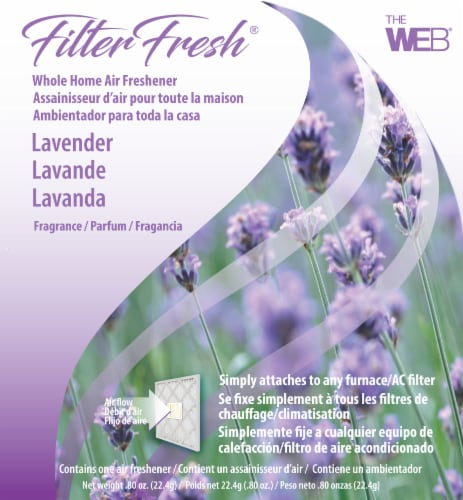 Filter Fresh Lavender Bloom Whole Home Air Freshener Perspective: front