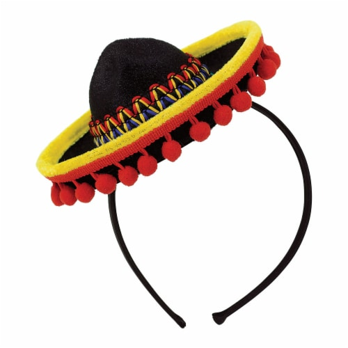 Amscan Cinco de Mayo Sombrero Headband Perspective: front