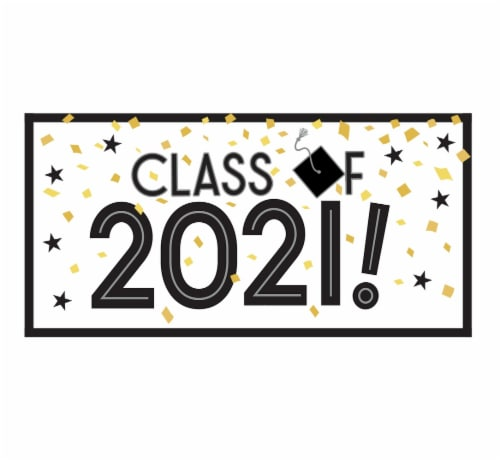 Ampro Graduation Class of 2020 Large Horizontal Banner Perspective: front