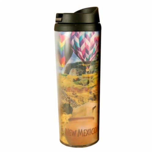 Americaware SATNMX01 New Mexico Full Color Lenticular Tumbler Perspective: front