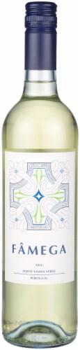 Famega White Vinho Verde Wine Perspective: front