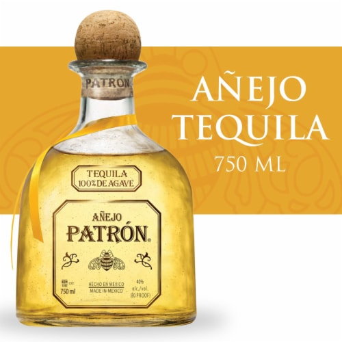Patron Anejo Tequila Perspective: front