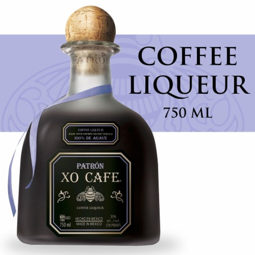 Patron XO Cafe Coffee Liqueur Perspective: front