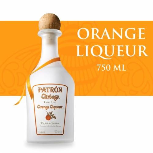 Patron Citronge Orange Liqueur Perspective: front