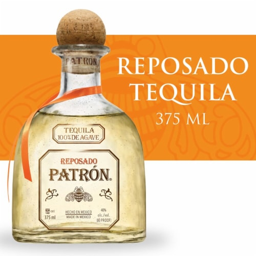 Patron Reposado Tequila Perspective: front