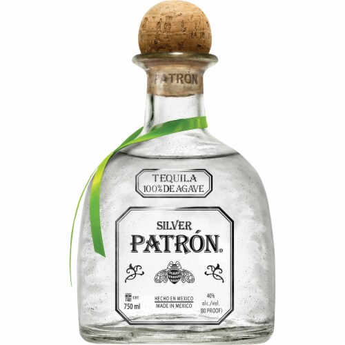 Patron Silver Tequila Perspective: front