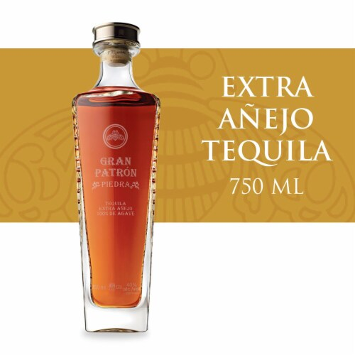 Gran Patron Piedra Extra Anejo Tequila Perspective: front