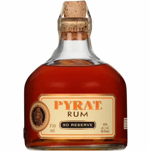 Pyrat XO Reserve Rum Perspective: front