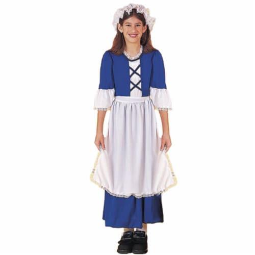 Forum Novelties Little Colonial Miss Medium Children's Costume Perspective: front