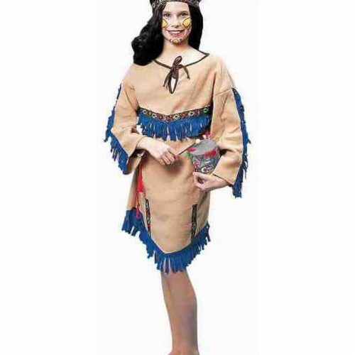 Forum Novelties 277088 Halloween Child Indian Girl Costume - Small Perspective: front