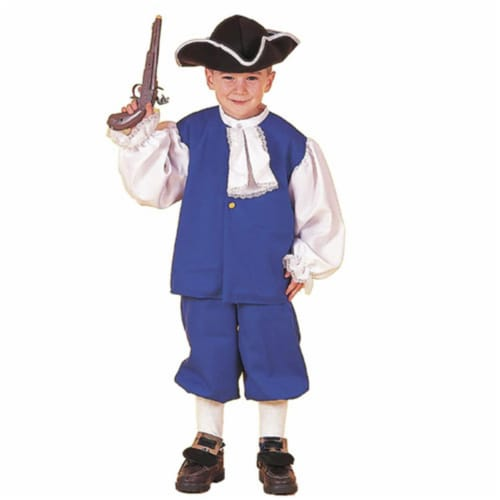 Forum Novelties Inc 20298 Little Colonial Boy Child Costume Size Small- Size 4-6 Perspective: front