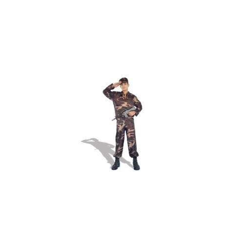 Forum Novelties 125242 Army Soldier Teen Costume Size: Teen Perspective: front