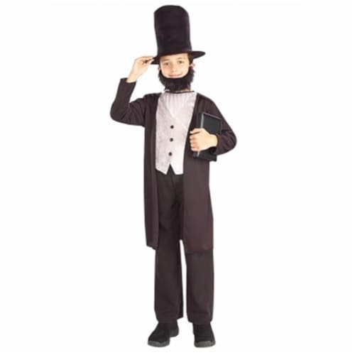 Forum Novelties 196274 Abraham Lincoln Child Costume Size: Small 4-6 Perspective: front