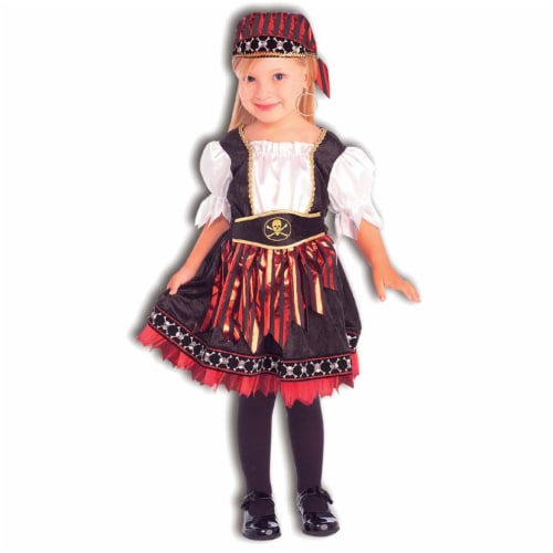 Forum Novelties Inc 31172 Lil  Pirate Cutie Child Costume Size Small 4-6 Perspective: front