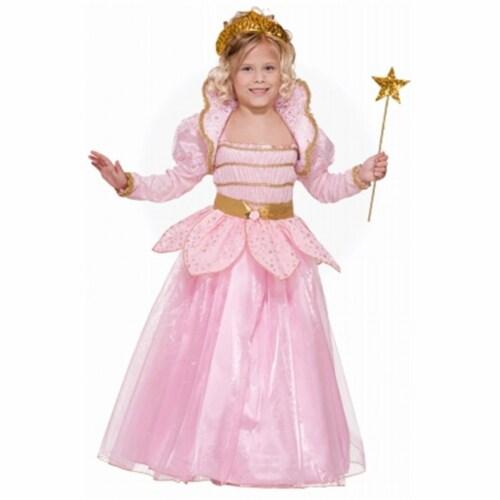 Forum Novelties 181961 Little Pink Princess Child Costume - Pink - Medium - 8-10 Perspective: front