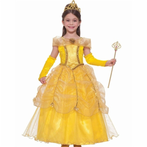 Forum Novelties Costumes 270746 Child Golden Princess Costume - Small Perspective: front