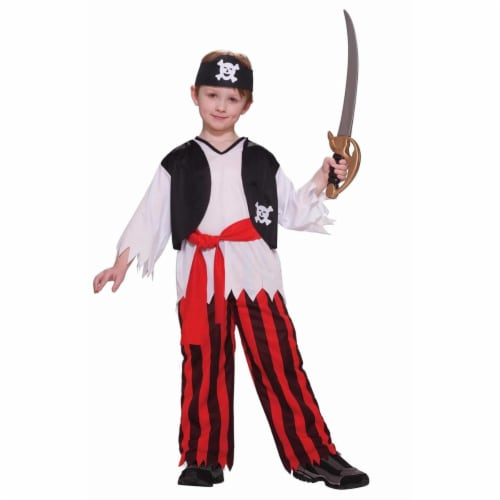 Forum Novelties Costumes 277139 Boys Pirate Costume, Medium Perspective: front