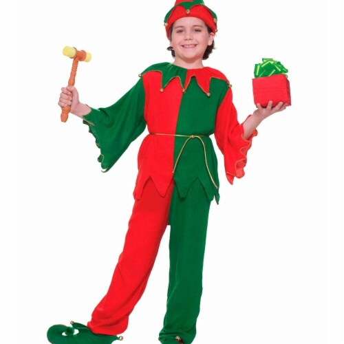 Forum Novelties Costumes 275400 Santas Elf Child Costume - Small Perspective: front