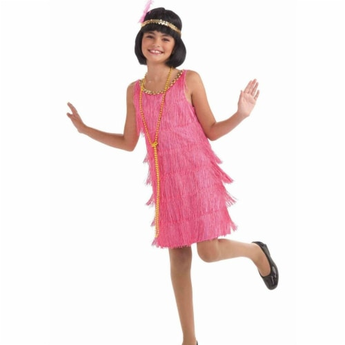 Forum Novelties Costumes 277157 Girls Lil Miss Flapper Costume, Small Perspective: front