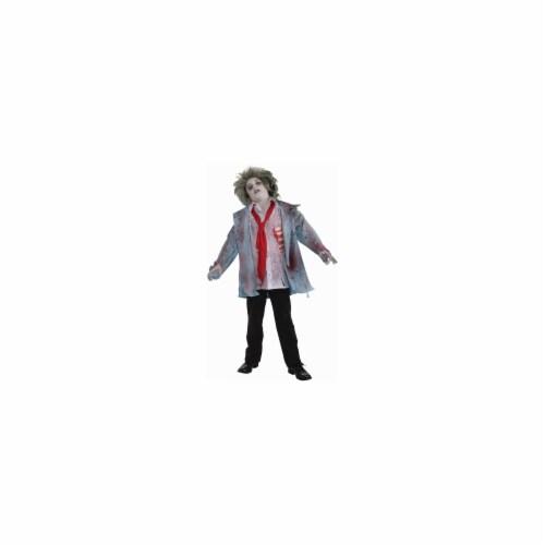 Forum Novelties 211566 Zombie Boy Child Costume Size: Medium (8-10) Perspective: front