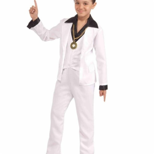 Forum Novelties Costumes 272283 70s Disco Fever Child Costume - Small Perspective: front